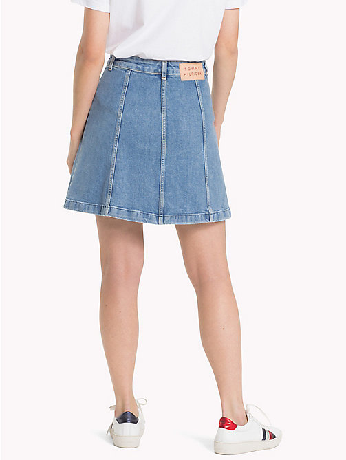 TOMMY HILFIGER Flared Denim Skirt - GABY - TOMMY HILFIGER Vacation Style - detail image 1