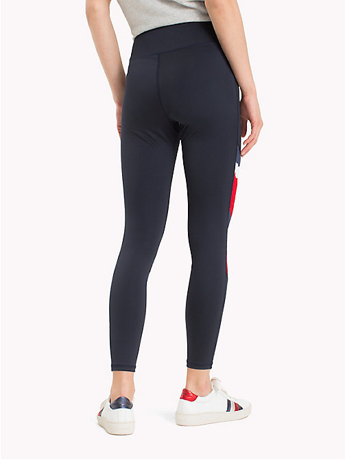 TOMMY HILFIGER Graphic Stripe Leggings - DIAS PRT - TOMMY HILFIGER Athleisure - detail image 1