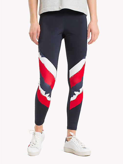 TOMMY HILFIGER Graphic Stripe Leggings - DIAS PRT - TOMMY HILFIGER Athleisure - main image