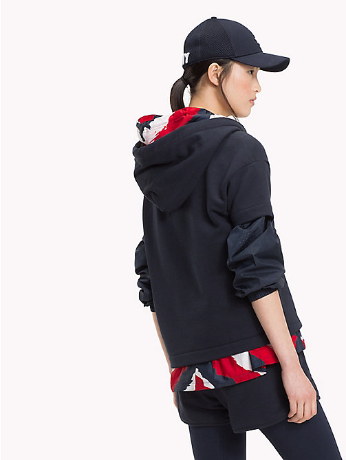 TOMMY HILFIGER Худи с короткими рукавами - MIDNIGHT - TOMMY HILFIGER Athleisure - подробное изображение 1
