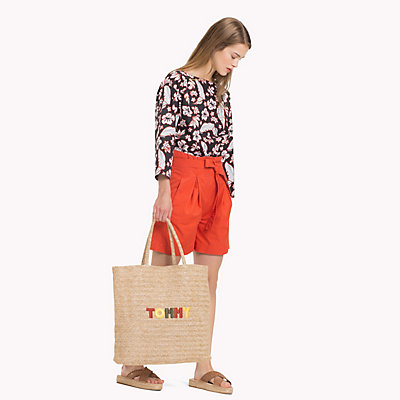 TOMMY HILFIGER  - TROPICAL PRT / BLACK BEAUTY -   - main image