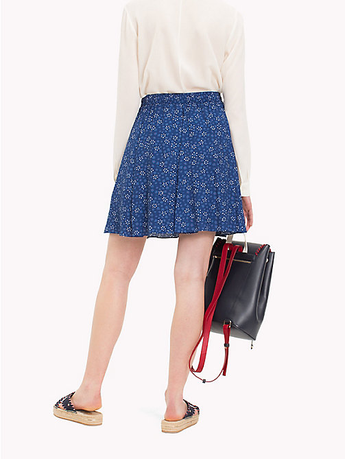TOMMY HILFIGER Floral Print Skirt - DITSY FLORAL / NAVY PEONY - TOMMY HILFIGER Dresses & Skirts - detail image 1