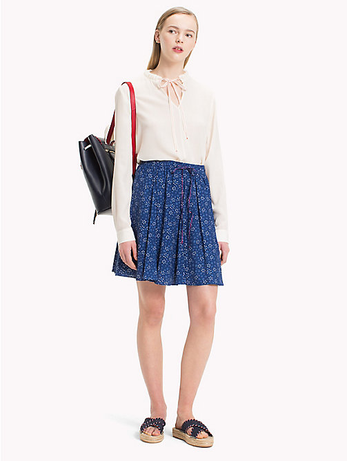 TOMMY HILFIGER Floral Print Skirt - DITSY FLORAL / NAVY PEONY - TOMMY HILFIGER Skirts - main image
