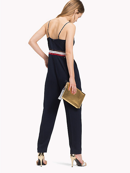 TOMMY HILFIGER Signature Mesh Jumpsuit - MIDNIGHT - TOMMY HILFIGER Jumpsuits - detail image 1