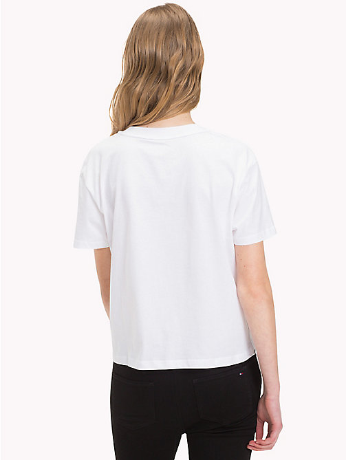 TOMMY HILFIGER Regular fit T-shirt - CLASSIC WHITE - TOMMY HILFIGER Kleding - detail image 1