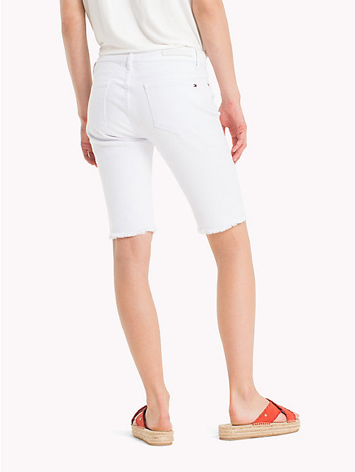 TOMMY HILFIGER Skinny Fit Bermuda-Shorts - CLASSIC WHITE - TOMMY HILFIGER Urlaubs-Styles - main image 1