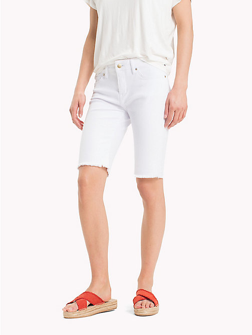 TOMMY HILFIGER Skinny Fit Bermuda-Shorts - CLASSIC WHITE - TOMMY HILFIGER Urlaubs-Styles - main image