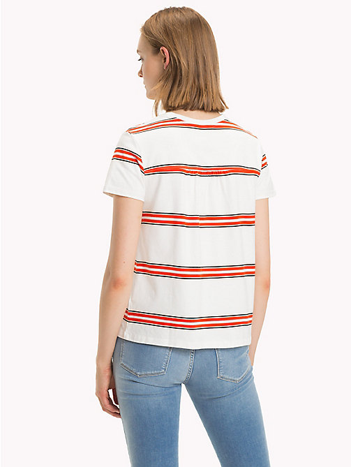 TOMMY HILFIGER T-shirt righe all over - YARN DYED STP / FIESTA - TOMMY HILFIGER Donna - dettaglio immagine 1