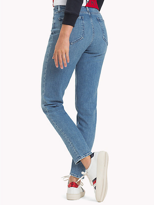 TOMMY HILFIGER Tapered Fit Jeans - CHOO - TOMMY HILFIGER Girlfriend Jeans - detail image 1