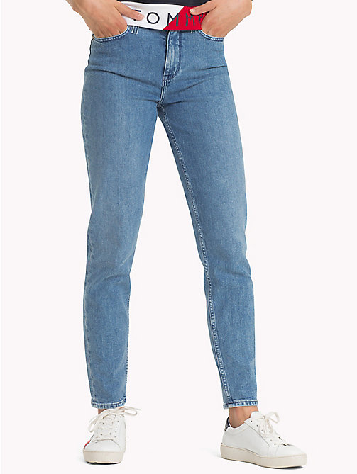 TOMMY HILFIGER Tapered Fit Jeans - CHOO - TOMMY HILFIGER Girlfriend Jeans - main image