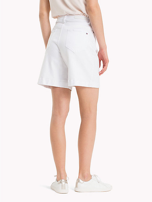 TOMMY HILFIGER Stretch Cotton Bermuda Shorts - CLASSIC WHITE - TOMMY HILFIGER Shorts - detail image 1