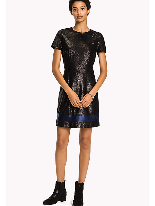 TOMMY HILFIGER Sparkly Dress - BLACK BEAUTY - TOMMY HILFIGER Dresses, Jumpsuits & Skirts - main image