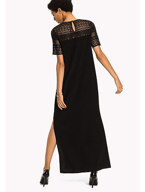 TOMMY HILFIGER Maxi Party Dress - BLACK BEAUTY - TOMMY HILFIGER Dresses, Jumpsuits & Skirts - detail image 1