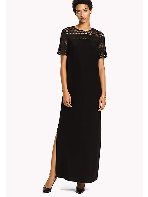 TOMMY HILFIGER Maxi Party Dress - BLACK BEAUTY - TOMMY HILFIGER Dresses, Jumpsuits & Skirts - main image