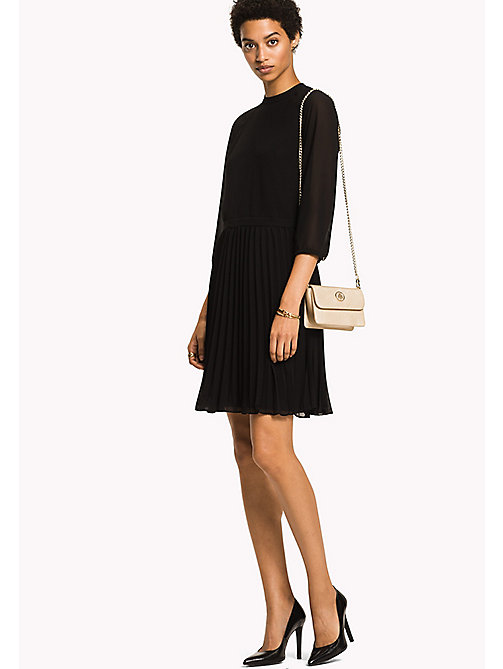 TOMMY HILFIGER Pleated Party Dress - BLACK BEAUTY - TOMMY HILFIGER Dresses, Jumpsuits & Skirts - main image