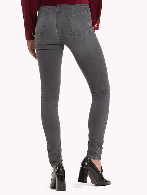 TOMMY HILFIGER Stretch High Waist Ultra Skinny Jeans - ALIANA - TOMMY HILFIGER Clothing - detail image 1