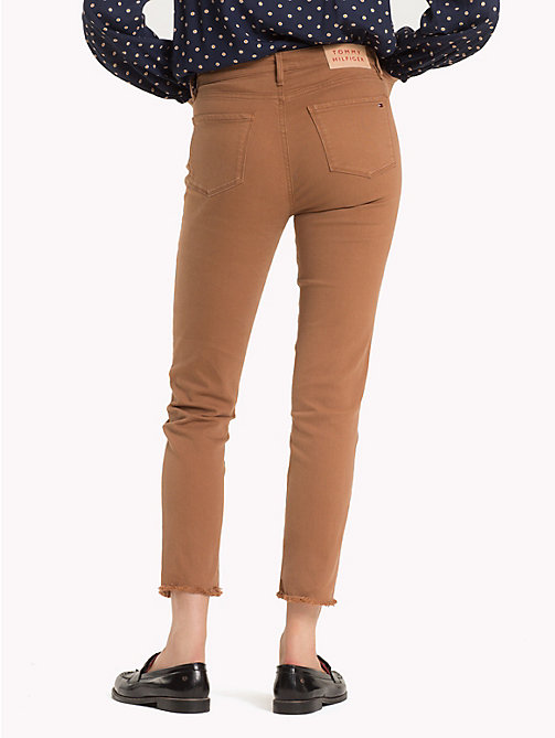 TOMMY HILFIGER High Waist Slim Fit Jeans - RAWHIDE - TOMMY HILFIGER Sale Women - detail image 1