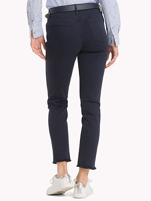 TOMMY HILFIGER High Waist Slim Fit Jeans - MIDNIGHT - TOMMY HILFIGER Black Friday Women - detail image 1