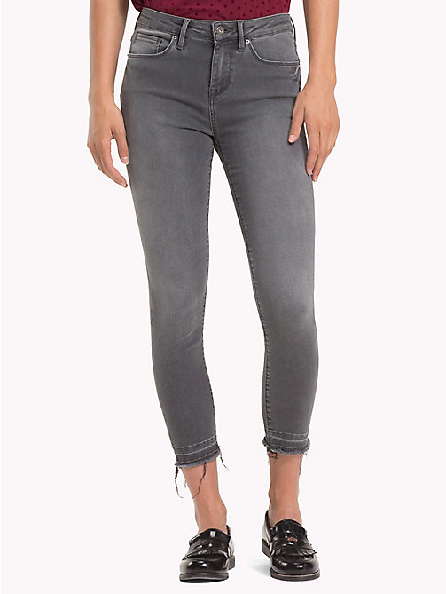 TOMMY HILFIGER Cropped Raw Hem Skinny Fit Jeans - ALIA - TOMMY HILFIGER Clothing - main image