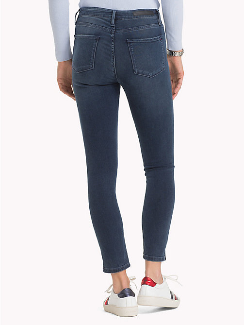 TOMMY HILFIGER Skinny Fit Stretch Ankle Jeans - ATTY - TOMMY HILFIGER Clothing - detail image 1