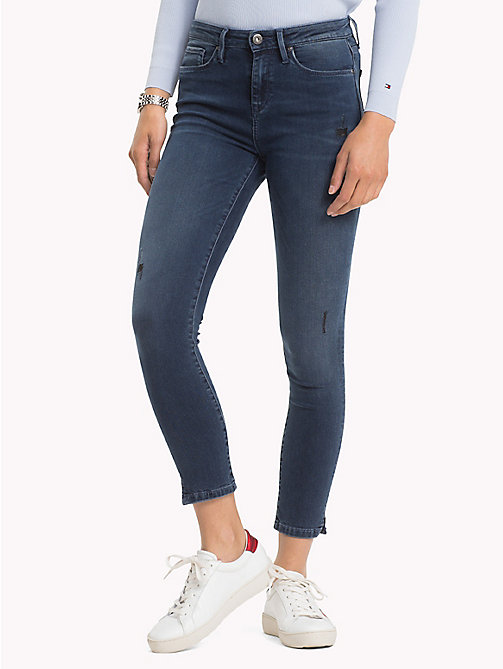 TOMMY HILFIGER Skinny Fit Stretch Ankle Jeans - ATTY - TOMMY HILFIGER NEW IN - main image