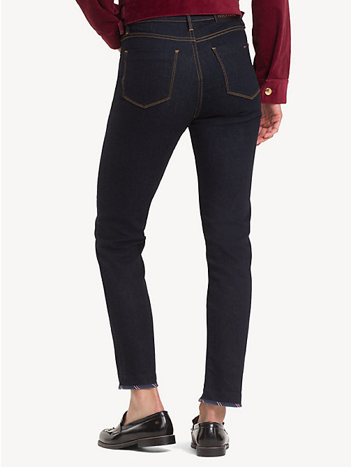 TOMMY HILFIGER Knöchellange Slim Fit Jeans mit Wappen - BILLY - TOMMY HILFIGER Slim Fit Jeans - main image 1