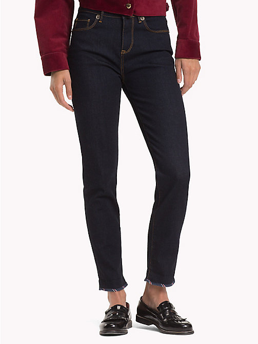 TOMMY HILFIGER Knöchellange Slim Fit Jeans mit Wappen - BILLY - TOMMY HILFIGER Slim Fit Jeans - main image