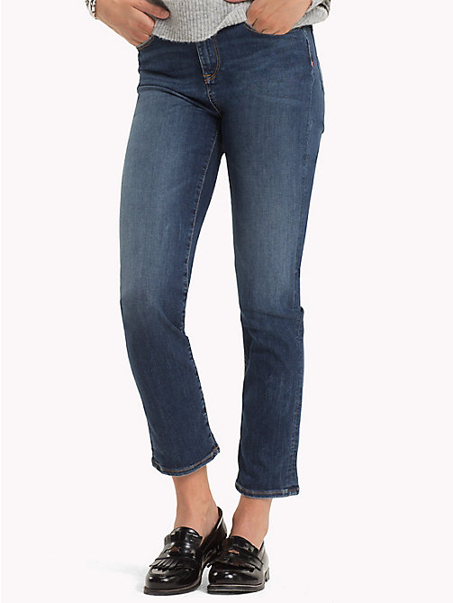 TOMMY HILFIGER Turned-Up Slim Fit Jeans - MELVI - TOMMY HILFIGER Black Friday Women - main image