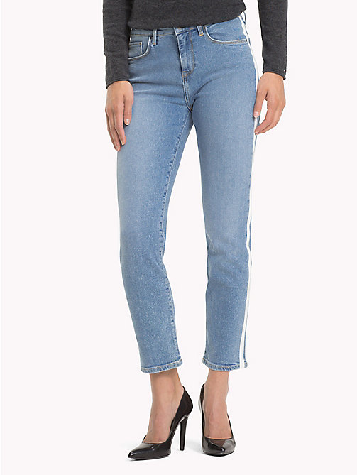 TOMMY HILFIGER Sporty Ankle Grazer Slim Fit Jeans - CORDELIA - TOMMY HILFIGER Black Friday Women - main image
