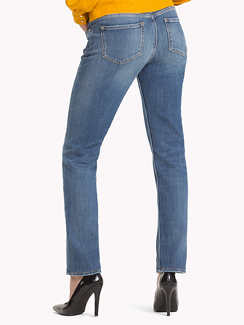 TOMMY HILFIGER Stretch Straight Fit Jeans - CARMEL - TOMMY HILFIGER Jeans - detail image 1