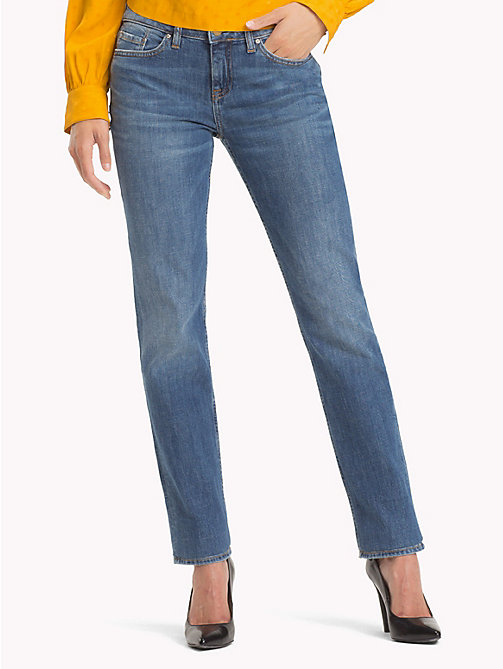 TOMMY HILFIGER Stretch Straight Fit Jeans - CARMEL - TOMMY HILFIGER Jeans - main image