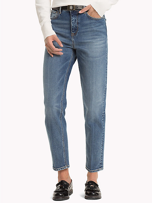 TOMMY HILFIGER Ankle Mom Jeans - JEANNE - TOMMY HILFIGER Girlfriend Jeans - main image