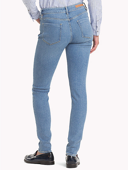 TOMMY HILFIGER Turn-Up Skinny Fit Jeans - CORDELIA - TOMMY HILFIGER Skinny Jeans - detail image 1