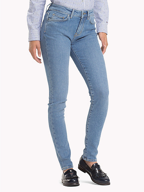 TOMMY HILFIGER Turn-Up Skinny Fit Jeans - CORDELIA - TOMMY HILFIGER Skinny Jeans - main image