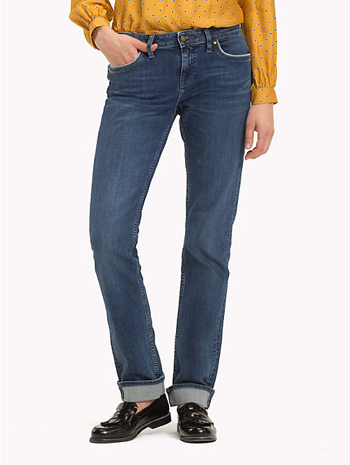 TOMMY HILFIGER Straight Fit Stretch-Jeans aus Bio-Baumwolle - CANDID - TOMMY HILFIGER Sustainable Evolution - main image