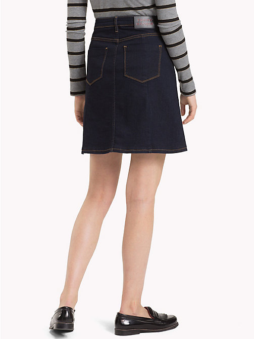 TOMMY HILFIGER A-Line Denim Skirt - BILLY - TOMMY HILFIGER Skirts - detail image 1