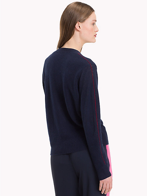 TOMMY HILFIGER Cashmere Cardigan - MIDNIGHT - TOMMY HILFIGER NEW IN - detail image 1