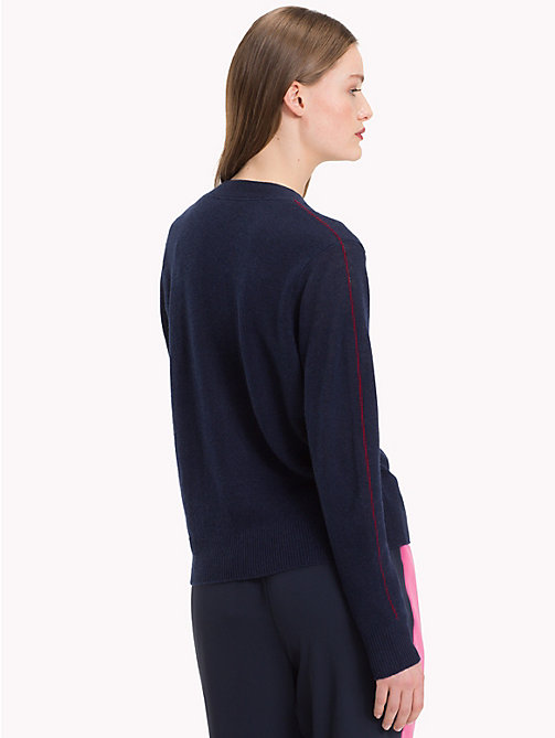 TOMMY HILFIGER Cashmere Cardigan - MIDNIGHT - TOMMY HILFIGER Clothing - detail image 1
