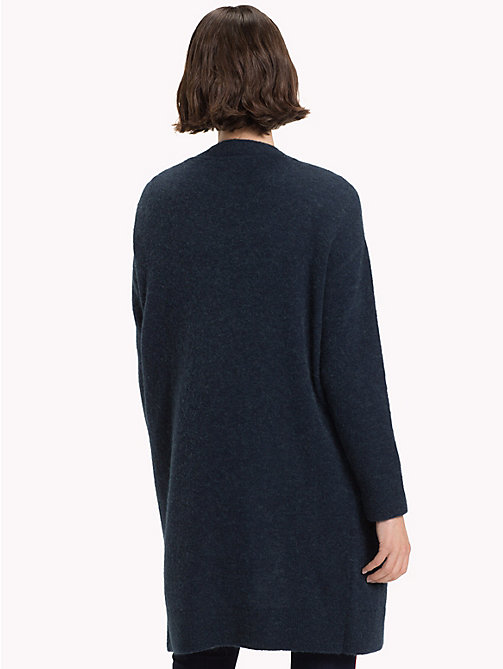 TOMMY HILFIGER Vallis Open Cardigan - MIDNIGHT - TOMMY HILFIGER Clothing - detail image 1