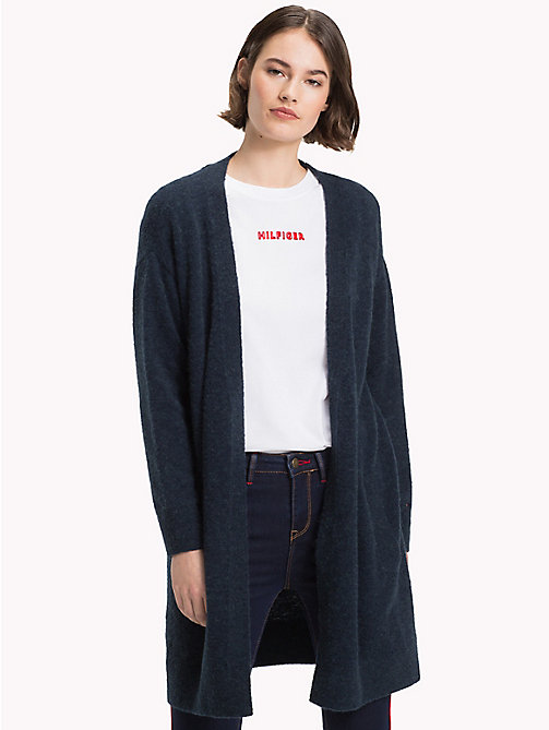 TOMMY HILFIGER Vallis Open Cardigan - MIDNIGHT - TOMMY HILFIGER Black Friday Women - main image