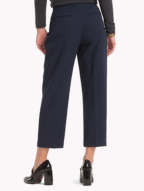TOMMY HILFIGER Pleated Trousers - MIDNIGHT - TOMMY HILFIGER NEW IN - detail image 1