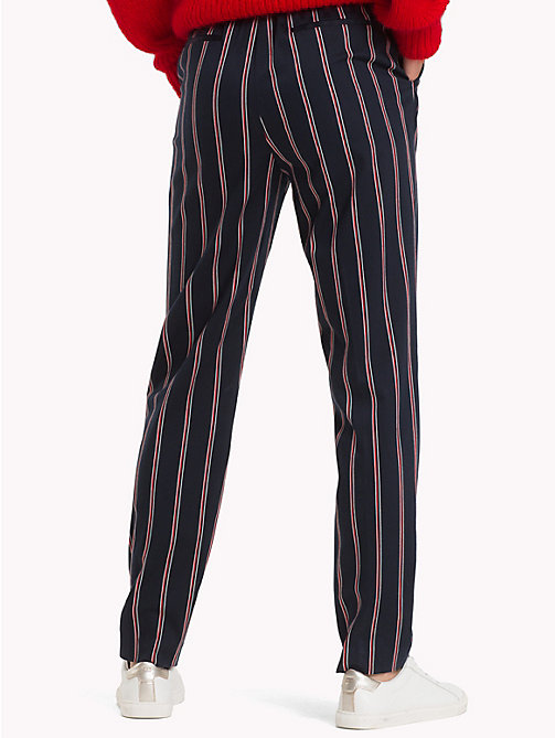 TOMMY HILFIGER Striped Pull-On Trousers - THIN BLAZER STP / SKY CAPTAIN - TOMMY HILFIGER What to wear - detail image 1