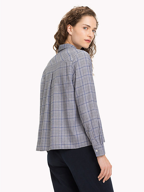 TOMMY HILFIGER Check A-Line Shirt - PRINCE OF WALES POP - TOMMY HILFIGER Trending - detail image 1