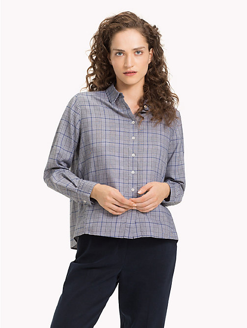 TOMMY HILFIGER Check A-Line Shirt - PRINCE OF WALES POP - TOMMY HILFIGER Trending - main image