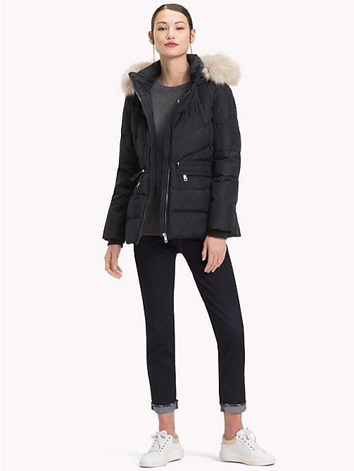 TOMMY HILFIGER Down Jacket - BLACK BEAUTY - TOMMY HILFIGER Coats - detail image 1
