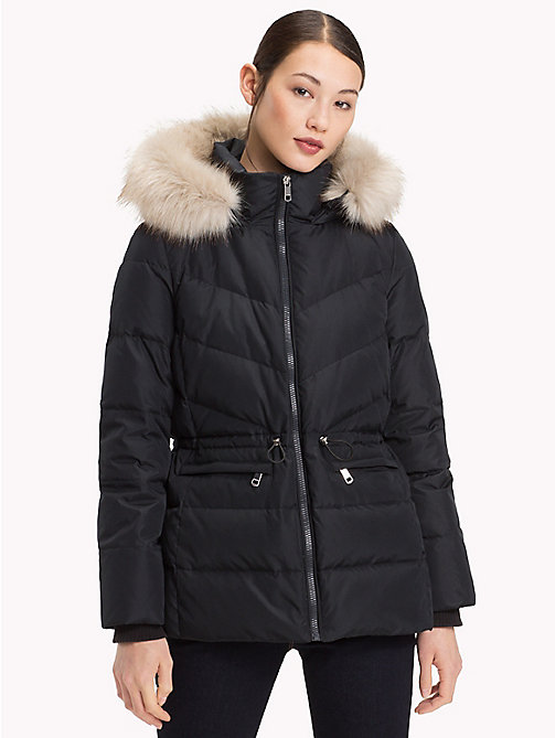 TOMMY HILFIGER Down Jacket - BLACK BEAUTY - TOMMY HILFIGER Sustainable Evolution - main image