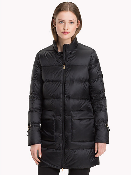TOMMY HILFIGER Packable Puffer Coat - BLACK BEAUTY - TOMMY HILFIGER Sustainable Evolution - main image