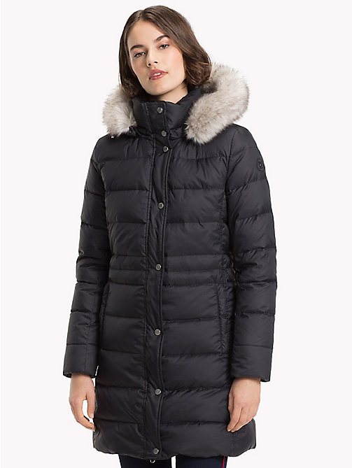 TOMMY HILFIGER Down Coat - BLACK BEAUTY - TOMMY HILFIGER Coats - main image