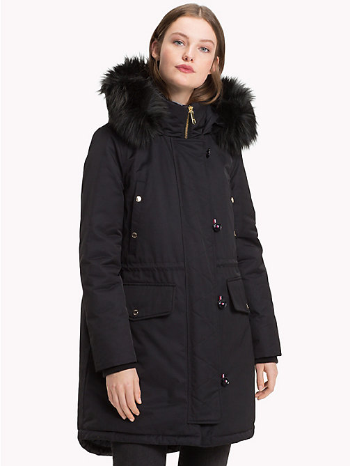 TOMMY HILFIGER Padded Parka - BLACK BEAUTY - TOMMY HILFIGER Parka Coats - main image