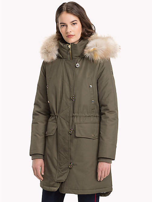 TOMMY HILFIGER Padded Parka - OLIVE NIGHT -  Clothing - main image